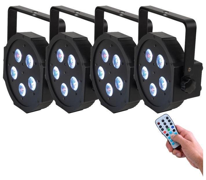 LED Scheinwerfer ADJ Tri PAR 5x3 Watt