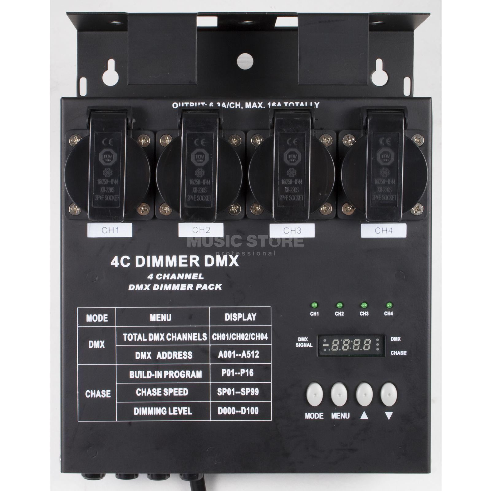 4-CH DMX Dimmer