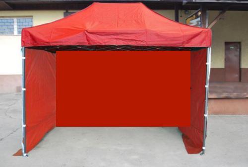 Faltzelt 3x3 m rot