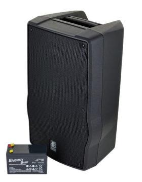 Akku Lautsprecher DB Technologies inkl. Funkmikro od. Headset